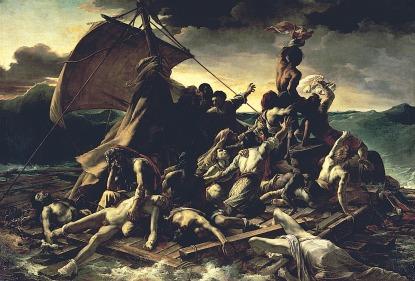 Théodore Géricault 「メデューズ号の筏」 (1818~1819)