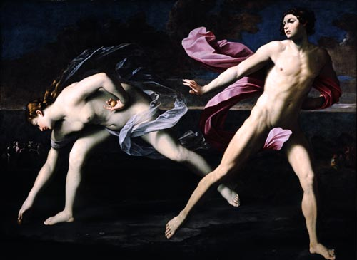 Guido Reni 「アタランテとヒッポメネス」 (1622年頃)