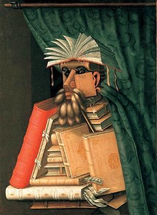 ジュゼッペ・アルチンボルド 「司書」 (1566)