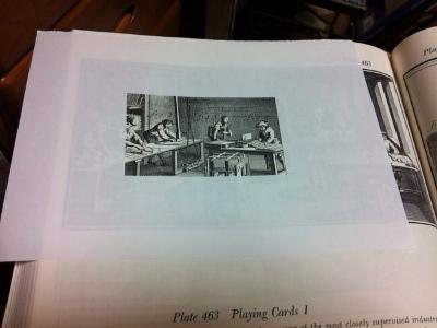 名刺大のフレームでイメージを膨らます