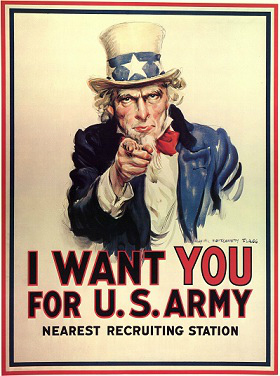 Uncle Sam Want YOU